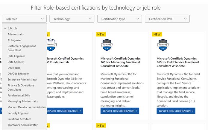 Microsoft Certified Professional is Dead!